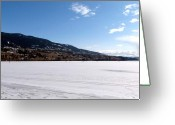March Greeting Cards - Ice Fishing On Wood Lake Greeting Card by Will Borden