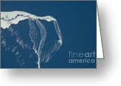 Ice-floe Greeting Cards - Ice Floes Off The Northeastern Tip Greeting Card by NASA/Science Source