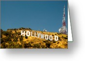 Piracy Greeting Cards - Iconic Shot - Beachwood Canyon Greeting Card by Natasha Bishop