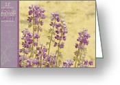 Sage Green Greeting Cards - If Greeting Card by Bonnie Bruno