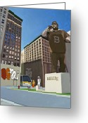 Urban Painting Greeting Cards - If You Dont Know Now You Know Greeting Card by Scott Listfield