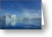 Noth Greeting Cards - Illulisaat Ice Greeting Card by Robert Lacy