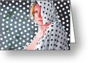 Hyper-realism Painting Greeting Cards - Illusion Greeting Card by Denny Bond