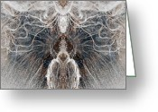 Duplicate Greeting Cards - Images  In The Ice Greeting Card by James Steele