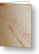Peachy Greeting Cards - Imagination Greeting Card by Bonnie Bruno