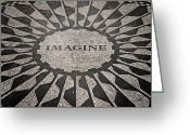 Tribute Greeting Cards - Imagine Greeting Card by Benjamin Matthijs