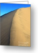 Mountains Of Sand Greeting Cards - Imagine Greeting Card by Bob Christopher