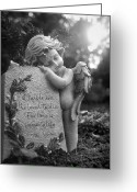 Mourner Greeting Cards - Immortality Greeting Card by Marc Huebner