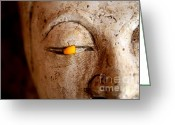 Namaste Greeting Cards - Improv Greeting Card by Dean Harte