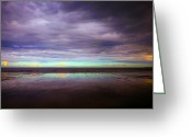 Seaview Greeting Cards - In Between Greeting Card by Svetlana Sewell