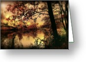 Forrest  Greeting Cards - In Dreams Greeting Card by Photodream Art