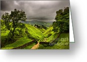 English Countryside Print Greeting Cards - In Englands green and pleasant land Greeting Card by Darren Burroughs