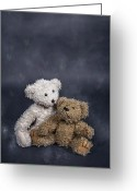 Teddy Bear Greeting Cards - In Love Greeting Card by Joana Kruse