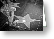 Michael Jackson Photo Greeting Cards - in memoriam Michael Jackson Greeting Card by Ralf Kaiser