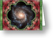 Sacred Geometry Greeting Cards - In Sight Greeting Card by Bell And Todd