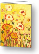 Impressionist Greeting Cards - In the Summer Sun Greeting Card by Jennifer Lommers