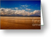 Colour Image Greeting Cards - Inch Strand Greeting Card by Gabriela Insuratelu