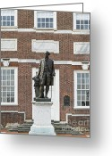 Independence Park Greeting Cards - Independence Hall Philadelphia Greeting Card by John Greim