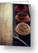 Healthy Eating Greeting Cards - Indian Spice Greeting Card by Shovonakar