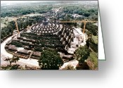 Borobudur Greeting Cards - Indonesia: Monument Greeting Card by Granger