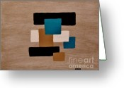 Dk Brown Greeting Cards - Infinity l Greeting Card by Marsha Heiken
