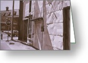 Photorealism Greeting Cards - Inkwash1 Greeting Card by Jeffrey Babine