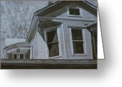 Photorealism Greeting Cards - Inkwash2 Greeting Card by Jeffrey Babine