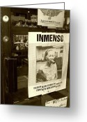 Huge Greeting Cards - Inmenso Cohiba Greeting Card by Debbi Granruth