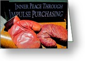 Inner Peace Greeting Cards - Inner Peace Greeting Card by Michael Durst