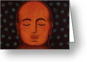 Ecumenical Greeting Cards - Inner Visions Greeting Card by Gloria Rothrock