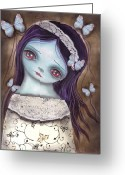 Innocence Greeting Cards - Innocence  Greeting Card by  Abril Andrade Griffith