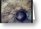 Igdaily Greeting Cards - Inside A Rocket Motor. #nasa #space Greeting Card by Adam Romanowicz