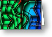 Toaster Digital Art Greeting Cards - Inside the Toaster Greeting Card by Ron Bissett