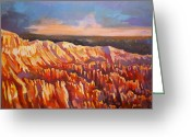 Inspiration Point Greeting Cards - Inspiration Point - Bryce Canyon Greeting Card by Filip Mihail