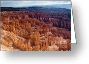 Point Park Greeting Cards - Inspiration Point Greeting Card by Jim Chamberlain
