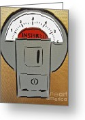 Tom Evans Greeting Cards - Inspired Meter Greeting Card by Tom Evans