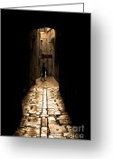 Alley Greeting Cards - Insular Calm Greeting Card by Andrew Paranavitana