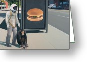 Monkey Greeting Cards - Intelligent Design Greeting Card by Scott Listfield