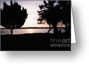 Intercoastal Greeting Cards - Intercoastal Sunset Greeting Card by Utopia Concepts