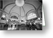 Wetmore Greeting Cards - Interior Of Union Station Via Rail Canada Downtown Winnipeg Manitoba Canada Greeting Card by Joe Fox