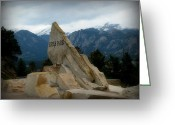 Southern Rocky Mountains Greeting Cards - Into Beautiful Estes Park Greeting Card by Aaron Burrows