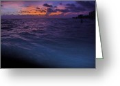 Gloaming Greeting Cards - Into the Gloaming 1 Greeting Card by T C Creations