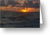 Gloaming Greeting Cards - Into the Gloaming 2 Greeting Card by T C Creations
