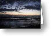 Gloaming Greeting Cards - Into the Gloaming 3 Greeting Card by T C Creations