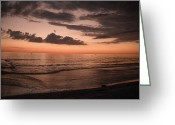 Gloaming Greeting Cards - Into the Gloaming 4 Greeting Card by T C Creations