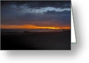 Gloaming Greeting Cards - Into the Gloaming Greeting Card by T C Creations