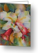 Florida Flowers Greeting Cards - Into the LIght Greeting Card by Tara Moorman