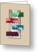 Textured Sculpture Greeting Cards - Intrigue Greeting Card by Rick Roth