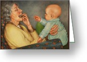 Ruth Gee Greeting Cards - Introductions  Greeting Card by Ruth Gee