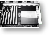 Stripes Greeting Cards - Irish American Greeting Card by John Rizzuto